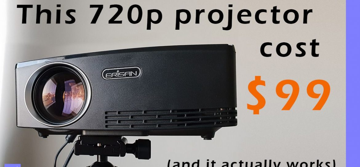 Aun C80 Erisan C80 720p Projector Review